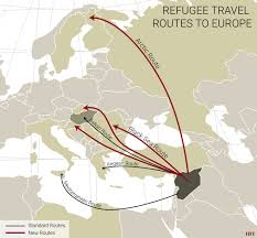 Image result for refugee map south and central america