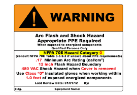 Nfpa 70e Ppe Chart Arc Flash Overview