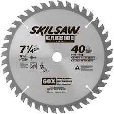 carbide tipped saw blades. skil 7-1/4\ carbide tipped saw blades a