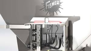 fisher® steel caster™ stainless steel hopper spreader fisher accessory integration