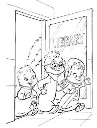 Kleurplaat Alvin En De Chipmunks Alvin En De Chipmunks Coloring