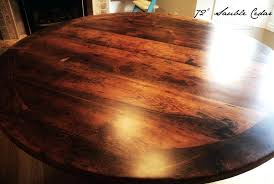 round dining table reclaimed wood tables hairpin legs threshing 3
