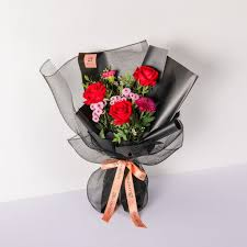 Audrey Black | Bouquet of Roses | BloomThis - Buy Flowers Online