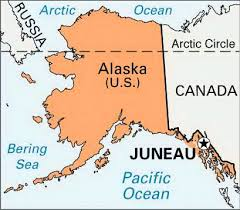 Image result for map of juneau