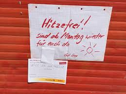 Berliner Leben Notes Of Berlin Hitzefrei Für Fast Alle Focus