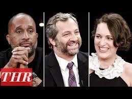 thr s comedy showrunner roundtable with judd apatow phoebe waller bridge kenya barris david mandel scott silveri gloria calderon kellett television