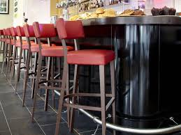 red bar stools. Contemporary Red Bar Stools Padded