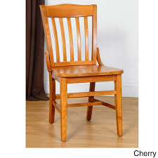 schoolhouse dining chairs. school house dining chairs (set of 2) (cherry (red) finish) schoolhouse u