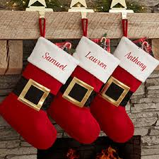 christmas stockings with names. Simple With Buy Personalized Christmas Stockings U0026 Add Any Name To Our Festive Santa  Belt Design Free Personalization Fast Shipping With Stockings Names A