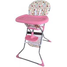 Mon Ami Baby High Chair HC61 Pink pink and gold baby high chair That Lifts You Out
