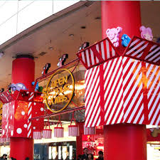 christmas stage decoration | Christmas Decorations for SOGO Department Store