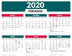 Calendario Noviembre 2020 Para Imprimir Feriados 2020 En Argentina El Calendario Completo Feriados
