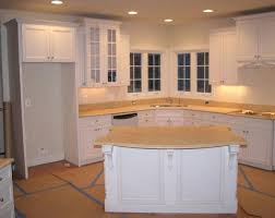 ALL WHITE KITCHEN WITH ISLAND  ALMOST COMPLETED