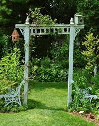 Small Picture Garden arbor trellis