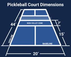 pickleball court size pickleball court installation and repair north state resurfacing co