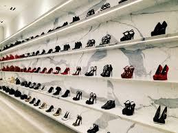 Footwear Shop Design Great Wall Of Saintlaurent Ysl Yvessaintlaurent Shoes