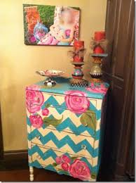 chevron painted furniture. I Would Love A Cute Painted Dresser Like This. Chevron Furniture R