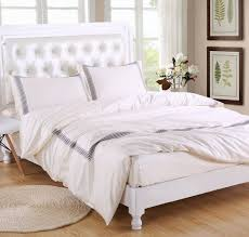 400thread count bedding set duvet cover set cream with grey embroidery duvet bedding sets 2017 bed