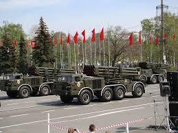 parade victory day samara russia