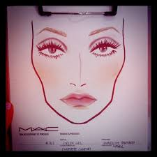 mac face chart by charity daw twiggy mac icon maccosmetics