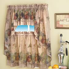 Kitchen Curtains With Grapes Beautiful And Stylish Patterns For Country Kitchen Curtains