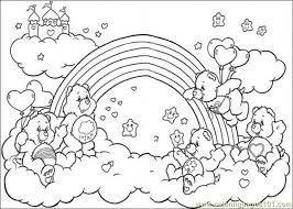 Small Picture free care bear coloring pages for children grumpy bear Gianfredanet