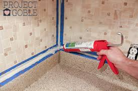Caulking Kitchen Backsplash Stunning How To Install A Peel Stick Mosaic Tile Kitchen Backsplash