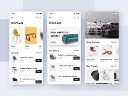 Furniture Design App Furniture Shop Mobile App Ui Concept Uplabs