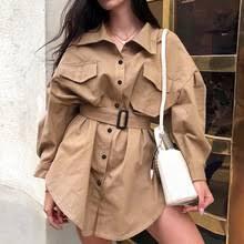 2019 new woman <b>trench</b> coat office coat <b>Women</b> Slim <b>Windbreaker</b> ...