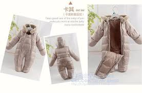 hot 2016 newborn winter snowsuits baby thermal overalls down jackets white duck down outerwear infant