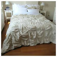 ruched duvet cover square ruched bedding duvet cover full queen king custom shabby chic bedding french