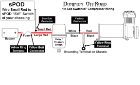 connecting air compressor to spod jk forum com the top arb air compressor switch wiring diagram click image for larger version name viair wiring to spod jpg views 665