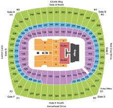 Chiefs Seating Chart With Rows Arrowhead Stadium Seating Charts Rows Seat Numbers And