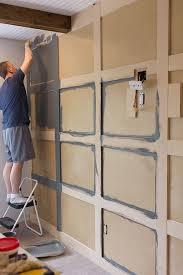 Good Master Makeover: DIY Paneled Wall | Trim | Pinterest | Bedroom, Wall And Bedroom  Wall