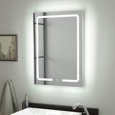 Image Framed Hilson Led Lighted Mirror Signature Hardware Bathroom Mirrors Vanity Mirrors Signature Hardware