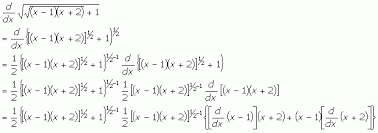 Using The Chain Rule To Solve A Derivative Math Central