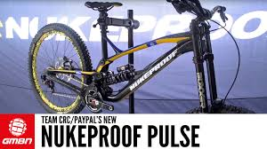 team crc paypal s new nukeproof pulse downhill bike
