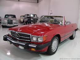 Black and grey mercedes sl that has that classic design. 1987 Mercedes Benz 560sl Convertible Daniel Schmitt Co Classic Car Gallery
