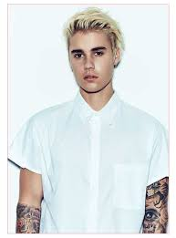 Hairstyle Men 2015 Plus Justin Bieber Blonde Hair All In Men