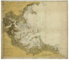 Boston Harbor 1918 Old Map Nautical Chart Ac Harbors 337 Massachusetts