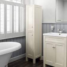 traditional bathroom cabinets furniture vanity unit basin clotted cream oak grey