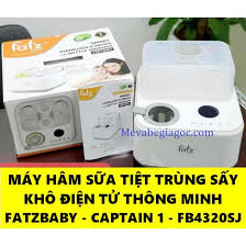 Máy tiệt trùng sấy khô thông minh tích hợp hâm sữa điện tử Fatz Fatzbaby -  CAPTAIN 1 - FB4320SJ giá cạnh tranh