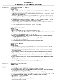 Trainer Resume Sample Service Trainer Resume Samples Velvet Jobs 58