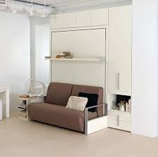 the is a self standing queen size wall bed system this space saving features reclining sofa designed in by clei murphy uk