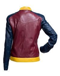 wonder woman diana of themyscira leather jacket zoom wonder
