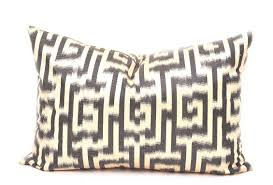 black white labyrinth design pillow decorative lumbar pillows lumbar decorative pillow decorative lumbar