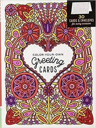Free Blank Greeting Card Templates Enchanting ColorYourOwn Greeting Cards 48 Cards Envelopes For Every