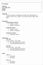 College Student Resume Objective 23 Top High School Student Resume