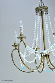 creating ambience with a beaded crystal chandelier