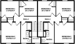 16 Wonderful 4 Bedroom Duplex Floor Plans  Building Plans Online 4 Bedroom Duplex Floor Plans
